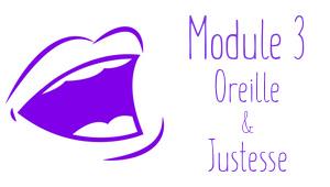 Formation Oreille et Justesse